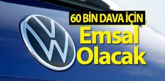 Volkswagen dava açan araç sahiplerine tazminat ödeyecek!