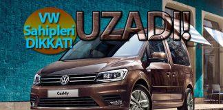 Volkswagen 5 modelde garanti süresini uzattı!