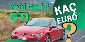Yeni Volkswagen Golf 8 GTI yola çıktı!