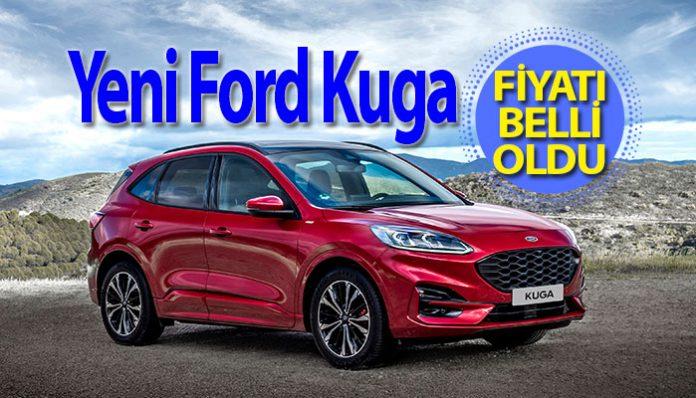 Yeni Ford Kuga Türkiye'de
