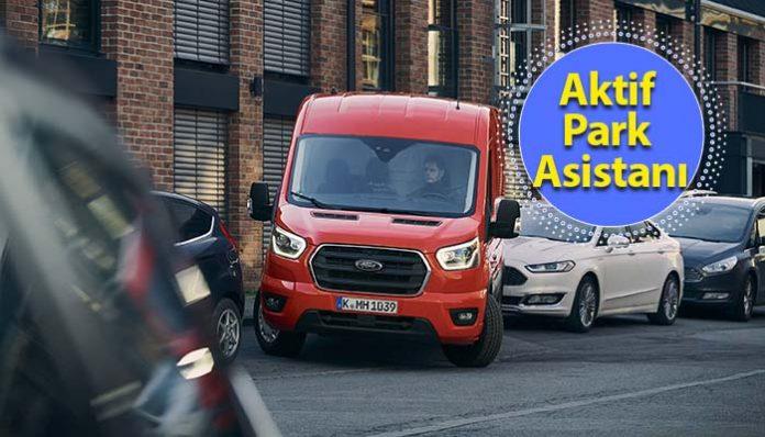 Yeni Ford Transit ile 'park etmek' artık çocuk oyuncağı