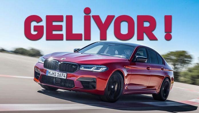 Yeni BMW M5 ve Yeni BMW M5 Competition Ağustos'ta Türkiye'de