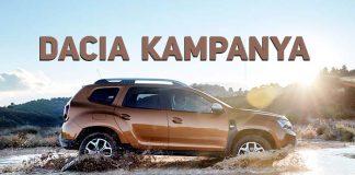 Dacia Haziran ayı kampanya fiyatları belli oldu