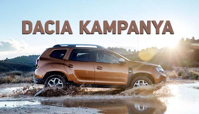 Dacia kampanya fiyatları