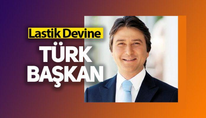Goodyear tüketici lastiklerine Türk Başkan
