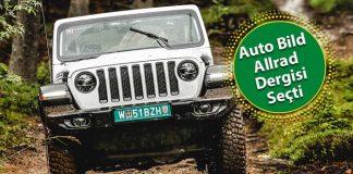 Jeep Wrangler Almanya'da En İyi SUV ve Arazi Aracı seçildi!