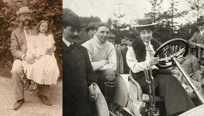 Mercedes Jellinek ve babası Emil Jellinek
