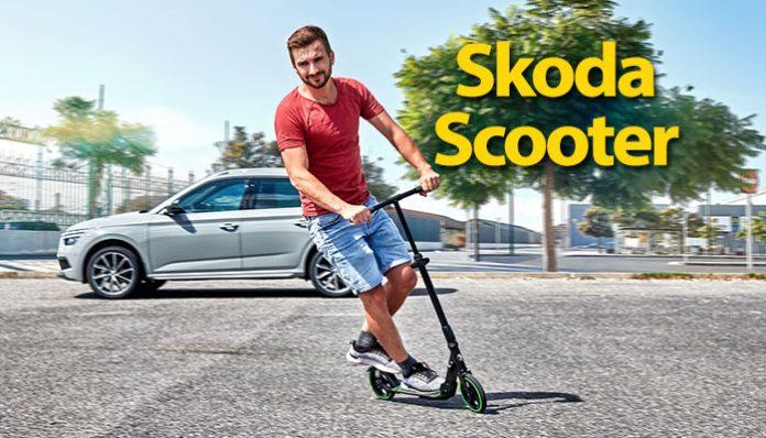 SKODA Scooter ile şehir içi kolay ulaşım