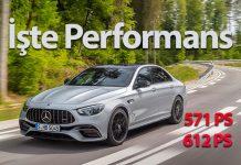 Yeni Mercedes-AMG E 63 4MATIC + Sedan ve Estate tanıtıldı