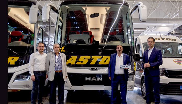 Astor Turizm filosuna 6 adet MAN Lion's Coach kattı