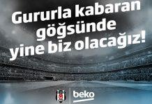 Efsane sponsor Beko yeniden Beşiktaş formasının göğsünde