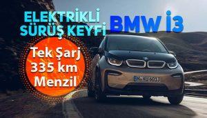 BMW'nin tamamen elektrikli modeli BMW i3 Türkiye'de