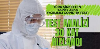 Yapay zeka yazılımını Türk şirketi ve Türk doktorları geliştirdi