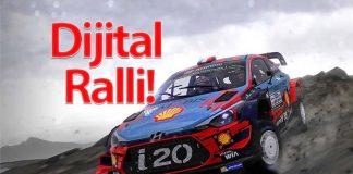 2020 Türkiye Dijital Ralli Şampiyonası başlıyor