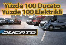 Fiat Professional'ın yeni modeli yüzde 100 elektrikli e-Ducato
