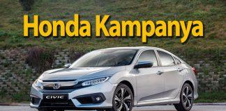 Honda'dan performans tutkunlarına Haziran'a özel fırsat