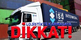 SD Logistics CEO'su Yalça uyardı:Lojistikte karmaşa olabilir!