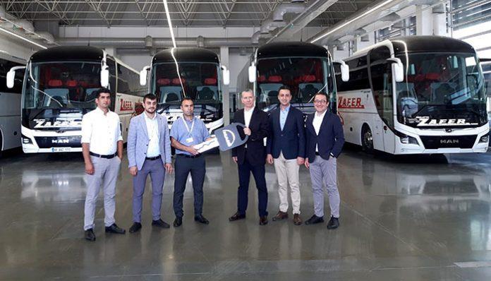 Malatya Zafer, Ankara'daki MAN Fabrikası'nda düzenlenen törenle filosuna 10 adet 13 metre, 2+1 VIP koltuk düzenli MAN Lion's Coach