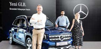 Mercedes-Benz'in 7 kişilik SUV modeli yeni GLB Türkiye'de