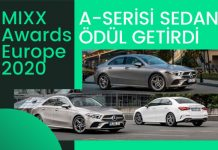 Mercedes-Benz Otomotiv'e MIXX Awards Europe 2020'den 2 ödül