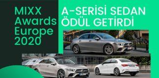 Mercedes-Benz Otomotiv'e MIXX Awards Europe 2020'den 2 ödül