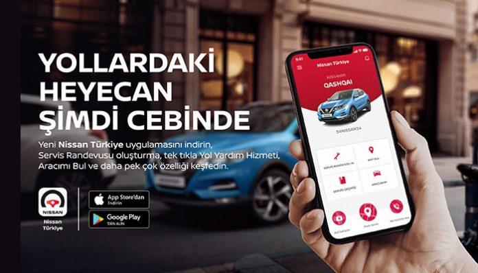 NISSAN Türkiye Mobil Uygulaması devrede!