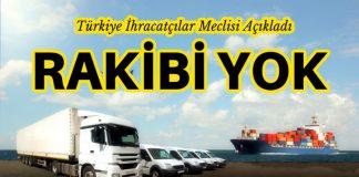 Mayıs ayının ihracat lideri Otomotiv Sektörü