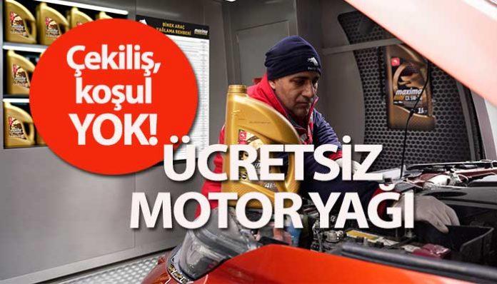 Petrol Ofisi'nden 17 bin ustaya ücretsiz motor yağı ve maske…