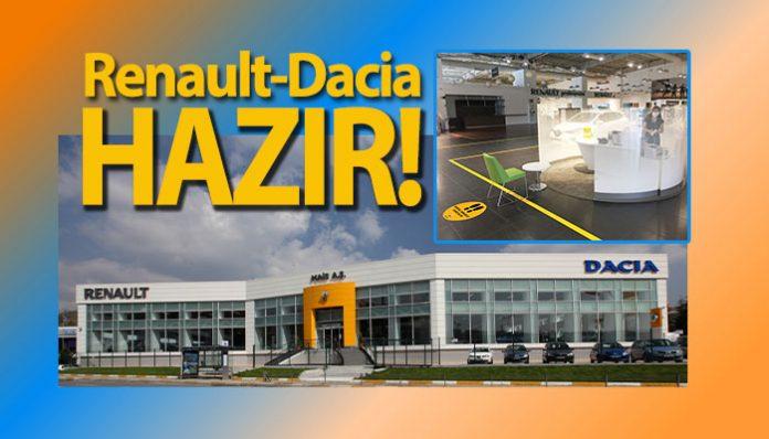 Renault ve Dacia Yetkili Satıcıları normalleşmeye hazır