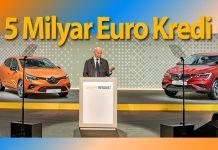 Renault Grubu'na Fransız Devleti garantisi ile 5 milyar Euro kredi
