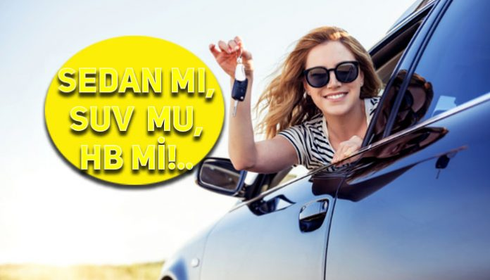Türk halkı SUV ve sedanı çok sevdi
