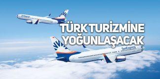 Türk Hava Yolları ve Lufthansa'nın ortak kuruluşu SunExpress atakta!