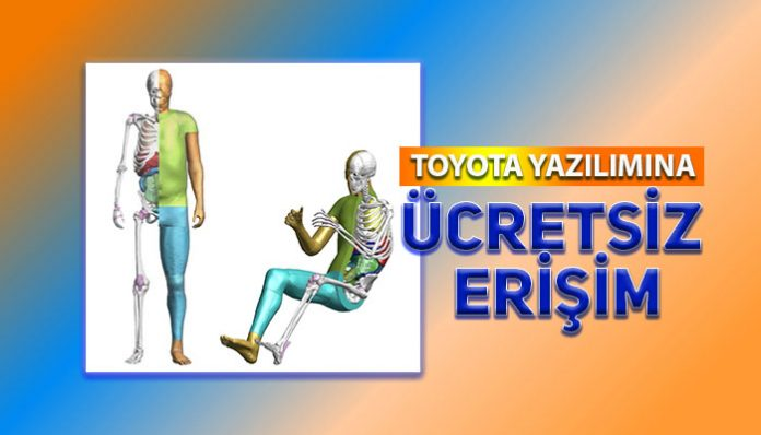 Toyota, araç kazaları araştırma yazılımına ücretsiz erişim
