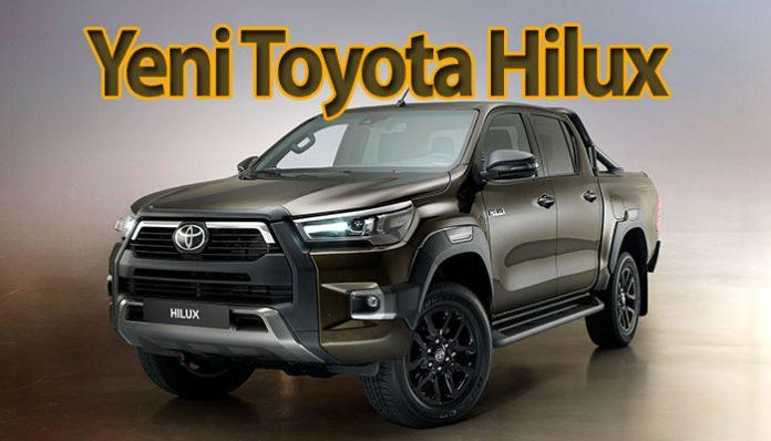 Efsane haline gelen Toyota Hilux yenilendi