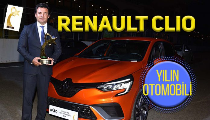 Türkiye'de Yılın Otomobili Renault Clio