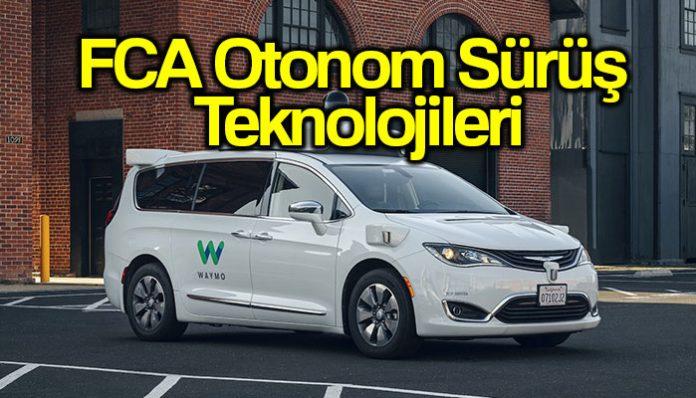 FCA otonom sürüş teknolojileri