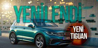 Avrupa'nın en çok tercih edilen SUV'u Tiguan yenilendi