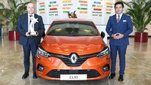 Yeni Clio'nun Yılın Ötomobili ödülü üretildiği Bursa'daki Oyak Renault Fabrikalarında