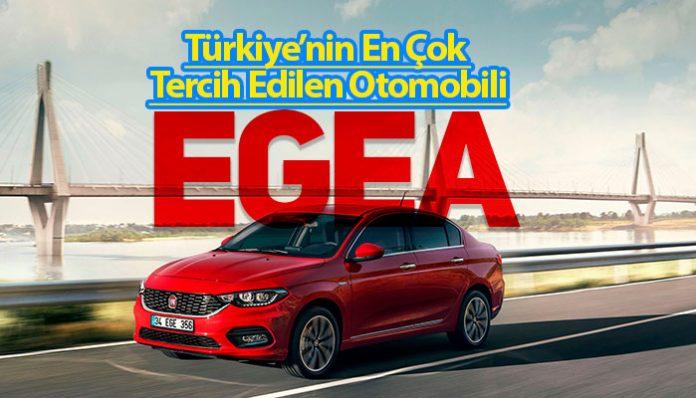 Fiat Egea 4 yıldır Türkiye'nin en çok tercih edilen otomobili!