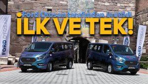 Ford'un Şarj edilebilir hibrit elektrikli ticari aracı Custom PHEV Ankara'da!