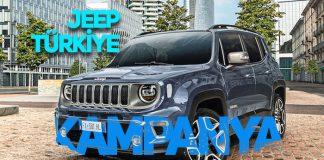 Jeep Compass ve Renegade'de şimdi al 2021'de öde kampanyası!