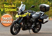 Efsane motosiklet markasından ayda 1000 TL taksitle Suzuki V-Strom!