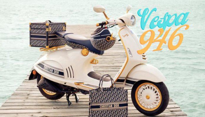 Vespa ve Christian Dior'dan Ortak Tasarım: Vespa 946!