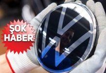 Alman otomotiv devi Volkswagen'den ŞOK açıklama!
