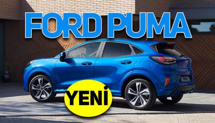 Ford SUV dünyasının en yeni üyesi, Yeni Ford Puma Türkiye'de