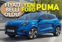 Yeni Ford Puma'nın Türkiye satış Fiyatı belli oldu!