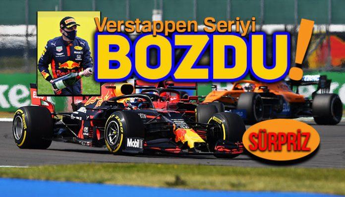 F1 70. Yıl Dönümü GP'sini Max Verstappen kazandı