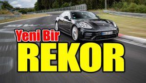 Porsche Panamera Michelin ile yeni bir tur rekoruna imza attı!