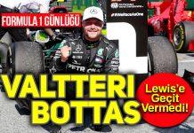 F1 Büyük Britanya GP'sinde pole pzisyon Valtteri Bottas'ın