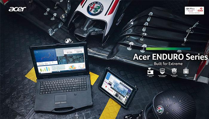 Acer ve Alfa Romeo Racing ORLEN birlikte çalışarak sosyal medya ve diğer dijital kampanyalar için etkileyici içerikler üretiyor.